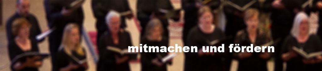 Mitmachen & Fördern